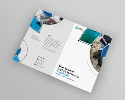 fancy brochure templates fancy stylish bi fold brochure template 000727 template catalog