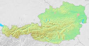 Topographical Map Of Europe by Maps Of Austria Map Library Maps Of The World