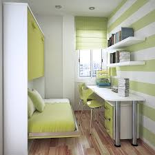 Student Bedroom Interior Design A Simple Solution To Utilize The Room Space Using Student Desk For