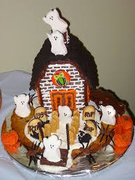 Halloween Haunted House Cake File Haunted Gingerbread House Jpg Wikimedia Commons