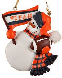 chicago bears snow globe ornament collection teddy bear globes