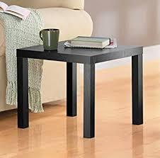 amazon com dhp small sofa end table living room furniture for