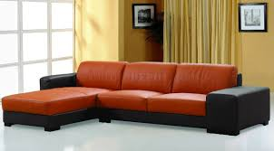 Cozy Sectional Sofas by Good Burnt Orange Sectional Sofa 45 With Additional Chocolate