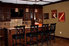 Home Interiors Interior Remarkable Stylish Popular Basement Bar Ideas Home