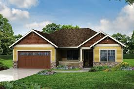 house plans ranch with gables home pattern