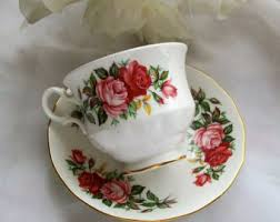 queen anne teacup etsy