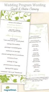 Funeral Programs Wording Wedding Program Wording U0026 Templates Wedding Programs And Clothes