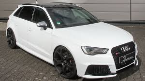 audi rs 3 audi rs3 by b b is more powerful than a porsche 911 gt3 rs