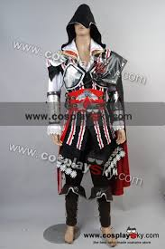 Ezio Halloween Costume Assassin U0027s Creed 2 Ii Ezio Cosplay Costume Black Version