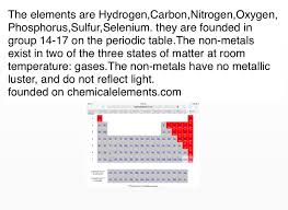 Sulfur On The Periodic Table Non Metal Gases Screen 2 On Flowvella Presentation Software
