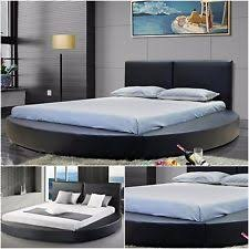 Platform Bed Ebay - round leather bed interior design