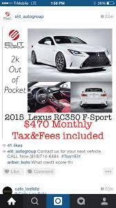 lexus rc 300 f sport lease rc 350 f sport lease help page 2 clublexus lexus forum