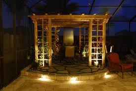 Gazebo Patio Ideas by Cast Aluminum Patio Furniture Ideas Led Outdoor Home F Lighting