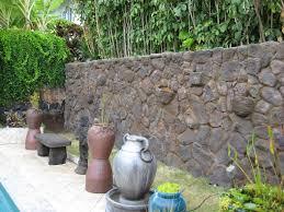 Garden Rock Wall by Moss Rock Installations