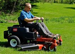 why zero turn mower is better than normal lawn mower for hilly