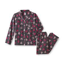 joe boxer women u0027s flannel pajamas poodle shop your way online