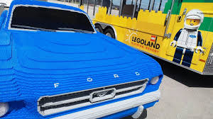 lego ford life size lego ford mustang goes to indiana ford authority