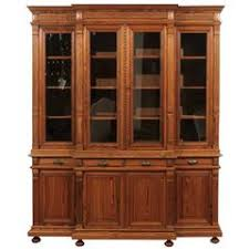 Pine Bookcase With Doors Pine Bookcases 91 For Sale At 1stdibs