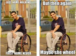 Drake In A Wheel Chair Drake From Degrassi In Wheelchair