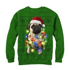 sweaters that light up sweater with pug lights light up