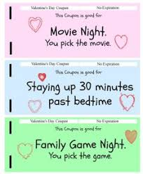 valentine day ideas for kids free printable activity coupons