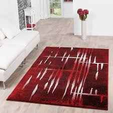 Wohnzimmer Design Schwarz Designer Teppiche Teppichcenter24 Rot Im Wohnzimmer 15