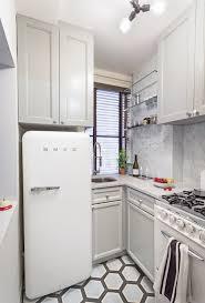 Kitchen Organization Ideas Pinterest A Darling 500 Square Foot Apartment Makeover Apartment Kitchen