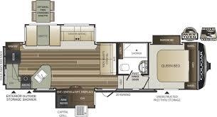keystone floor plans 2001 keystone cougar 5th wheel floor plans floor plans and