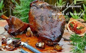 cuisiner epaule agneau gigot d agneau au miel et romarin petits plats entre amis