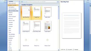 Resume Samples In Word 2007 Unique Resume Templates Word 2007 Facetous Word Resume Template