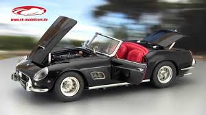 Ferrari California 1962 - ck modelcars video ferrari 250 gt california spyder swb baujahr