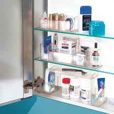 amazon com interdesign med bathroom medicine cabinet organizer