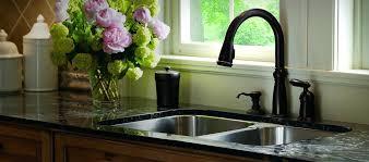 delta oil rubbed bronze kitchen faucet delta 9178 rb dst leland single handle pull down kitchen faucet