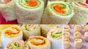 sandwich rollups or pinwheels bread sushi kid u0027s video recipes