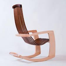Modern Nursery Rocking Chair Modern Leather Rocking Chair Creative Decoration Modern Rocking