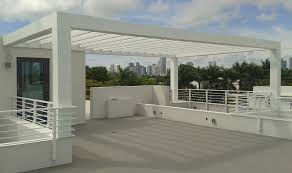 Roof Trellis Miami Fabricators Louvers And Trellises