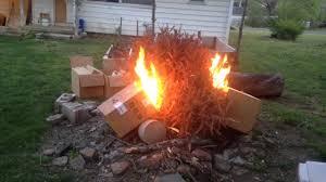 dry christmas tree fire youtube