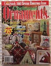 just cross stitch magazines 2003 christmas ornaments special issue