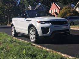 land rover india the range rover evoque convertible is a strange car with a lot of