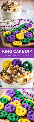 king cake for mardi gras king cake dip hooplah