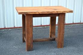 Reclaimed Wood Bistro Table Reclaimed Wood Bistro Table Walnut Work Table Sycamore Pub Table