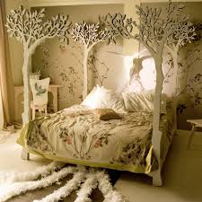 Beautiful Bed Frames Tree Canopy Beds 495 Home Decorating Designs
