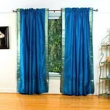 Bright Blue Curtains Decoration Bright Blue Curtains