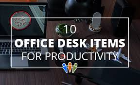 Office Desk Items 10 Office Desk Items To Improve Productivity Datatech Business