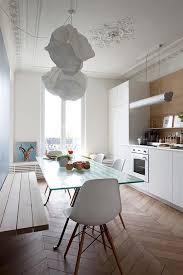 cuisine appartement parisien cuisine appartement haussmannien idée deco cabane