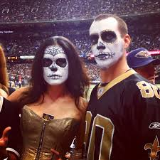 what to wear to the cowboys saints game who dat nation edition