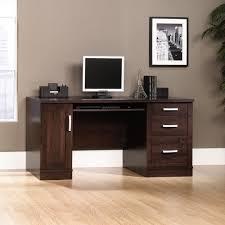 computer desk and credenza office port computer credenza 408291 sauder