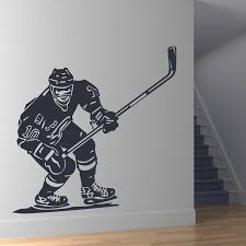 wall mural decals sports color the walls of your house wall mural decals sports hockey player sports wall art stickers wall decal