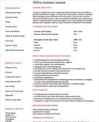 Office Job Resume Templates 20 Work Resume Templates Free U0026 Premium Templates