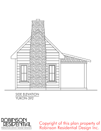 residential home plans the yukon tiny house plans by robinson residential